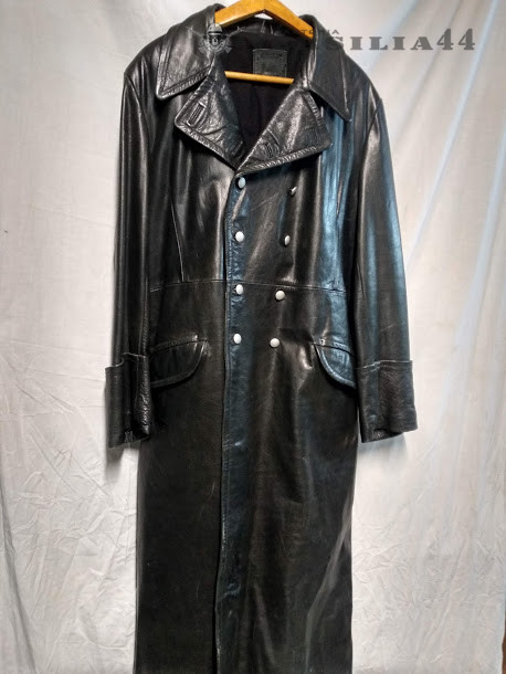 reputable site 0a9ee 1e60c Ledermantel Ww 2 REPLICA Cappotto In Pelle Tedesco ufficiali ss